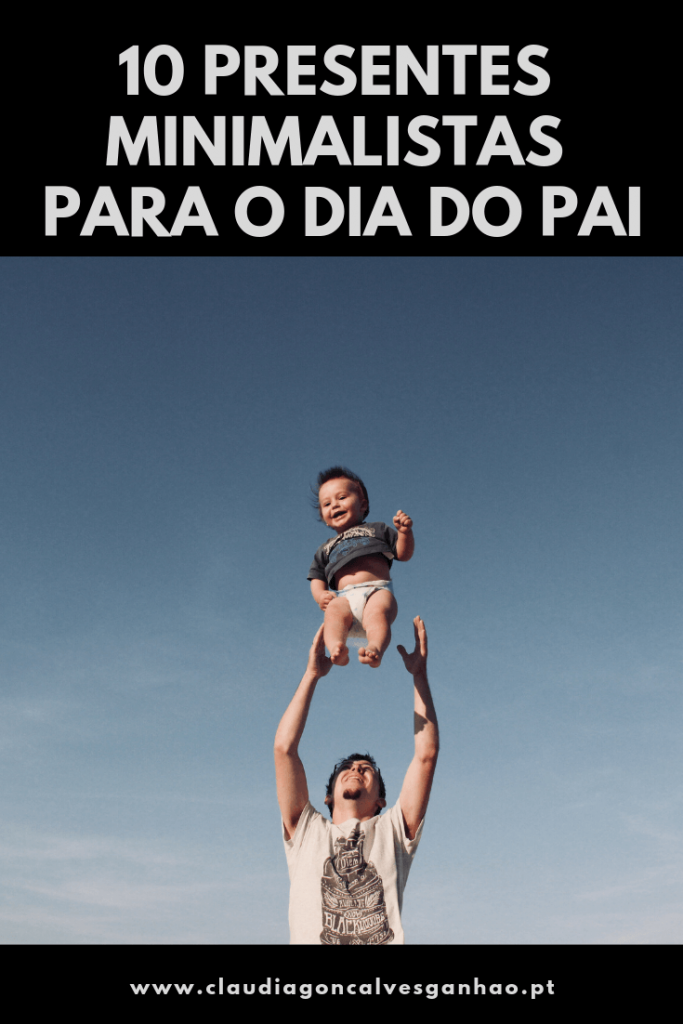 Presentes Minimalistas para o Dia do Pai